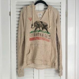 Billabong California Love V-Neck Hoodie